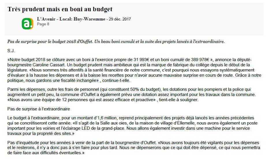 boni budget